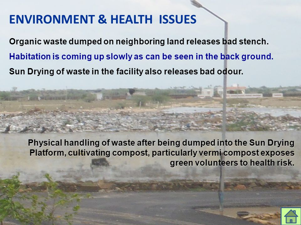 ENVIRONMENT & HEALTH ISSUES