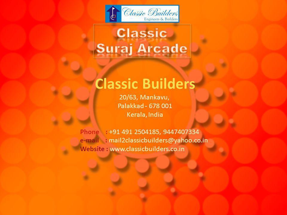 Classic Builders Classic Suraj Arcade