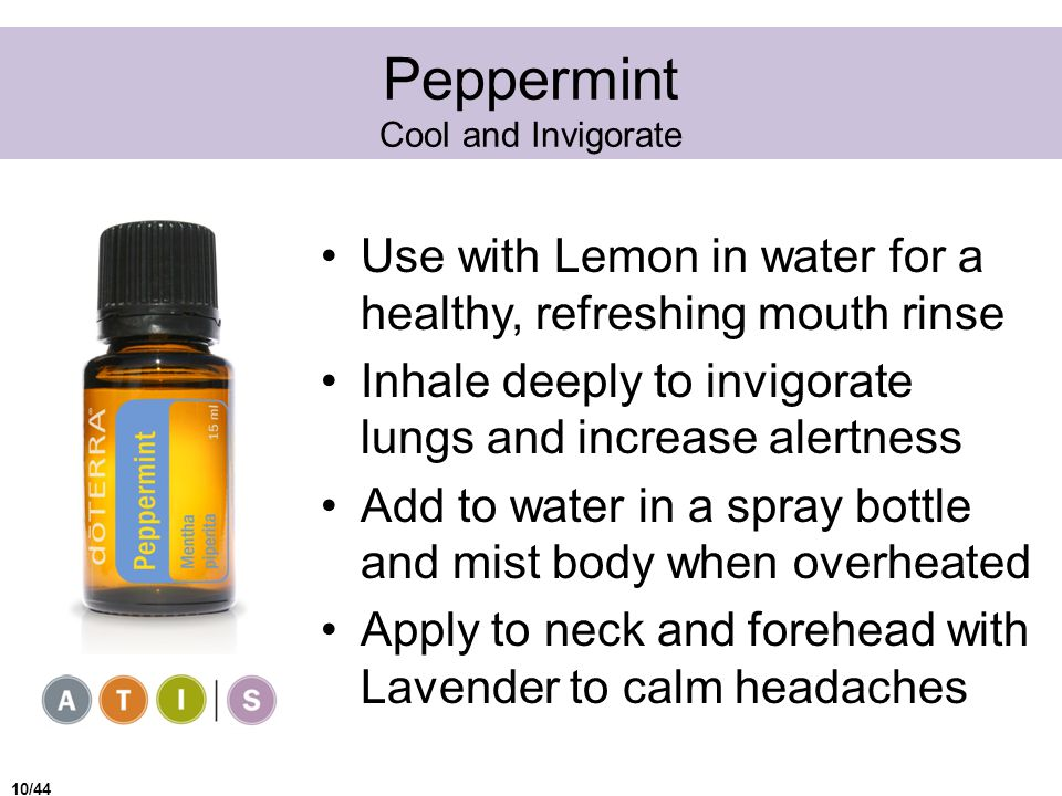 Peppermint Cool and Invigorate