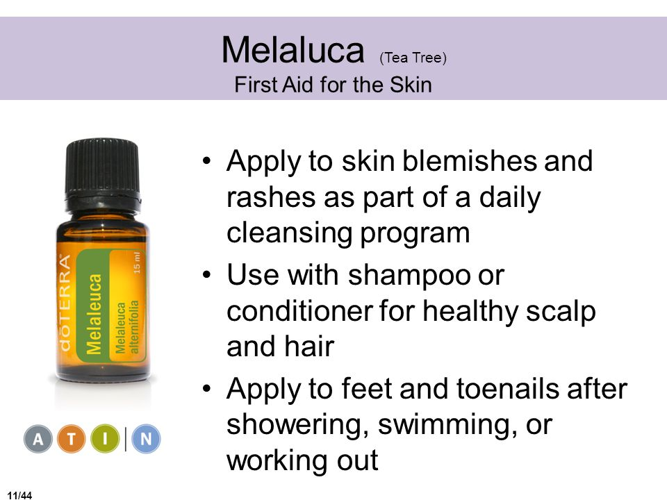 Melaluca (Tea Tree) First Aid for the Skin