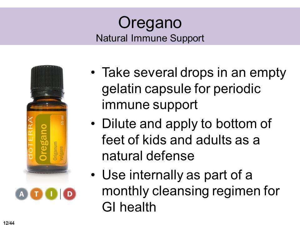 Oregano Natural Immune Support