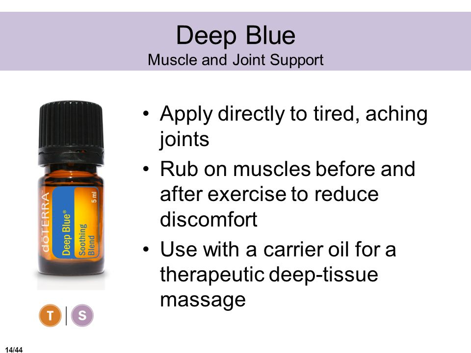 Deep Blue Muscle and Joint Support