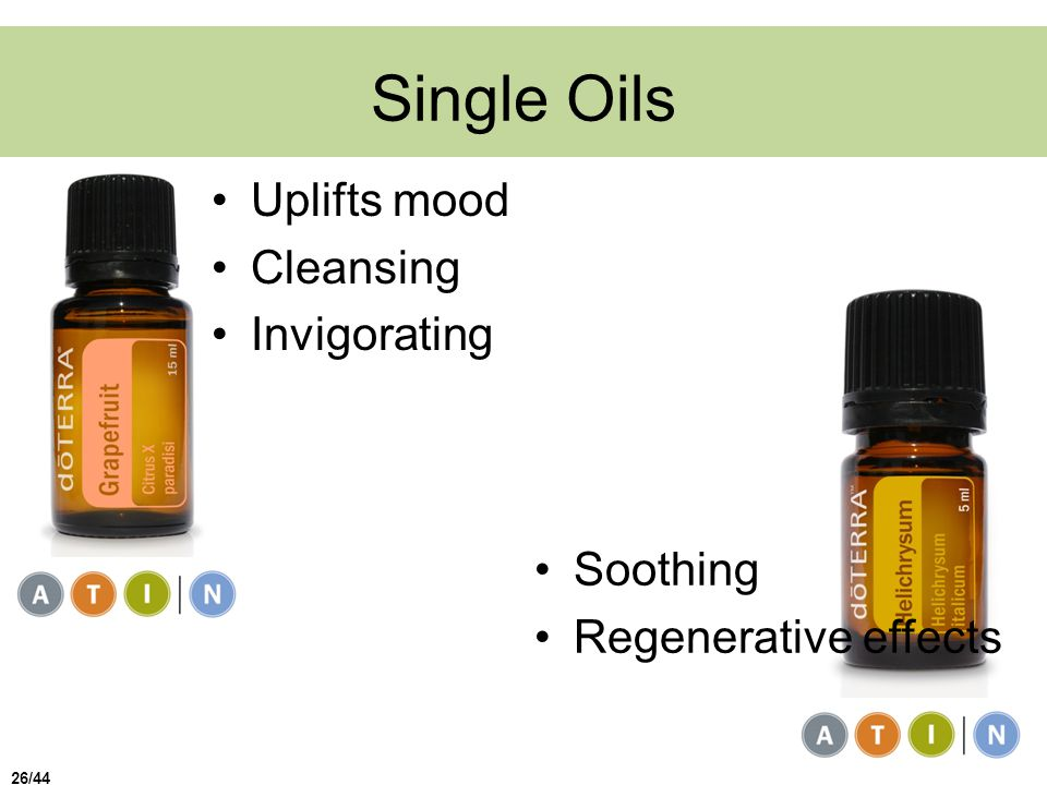 Single Oils Uplifts mood Cleansing Invigorating Soothing