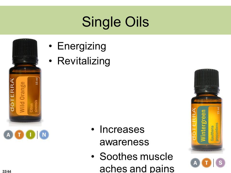 Single Oils Energizing Revitalizing Increases awareness