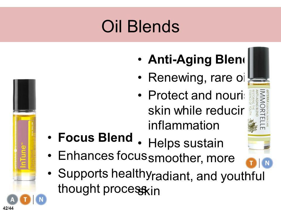 Oil Blends Anti-Aging Blend Renewing, rare oils