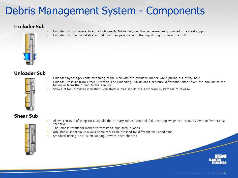 Debris Management System - Components