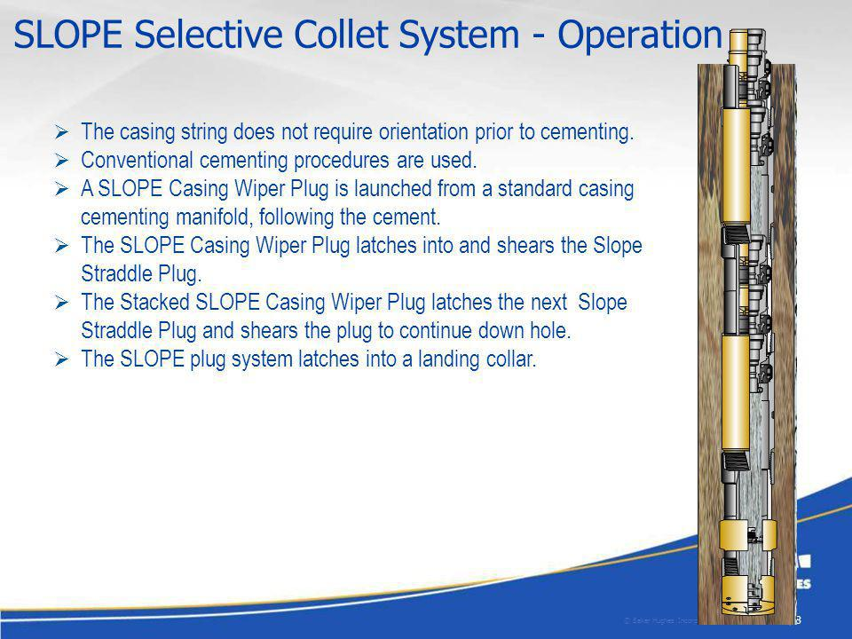 SLOPE Selective Collet System - Operation