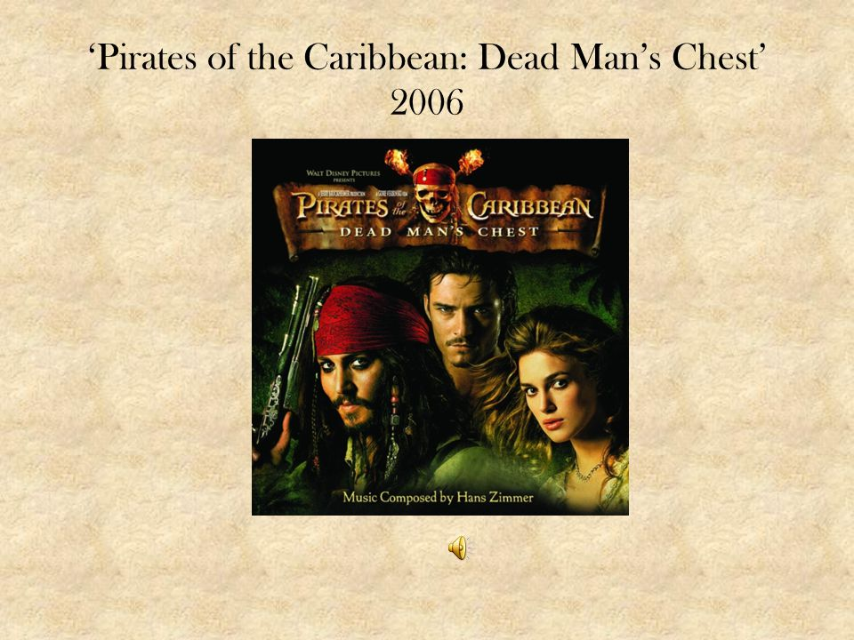 'Pirates of the Caribbean: Dead Man's Chest' 2006