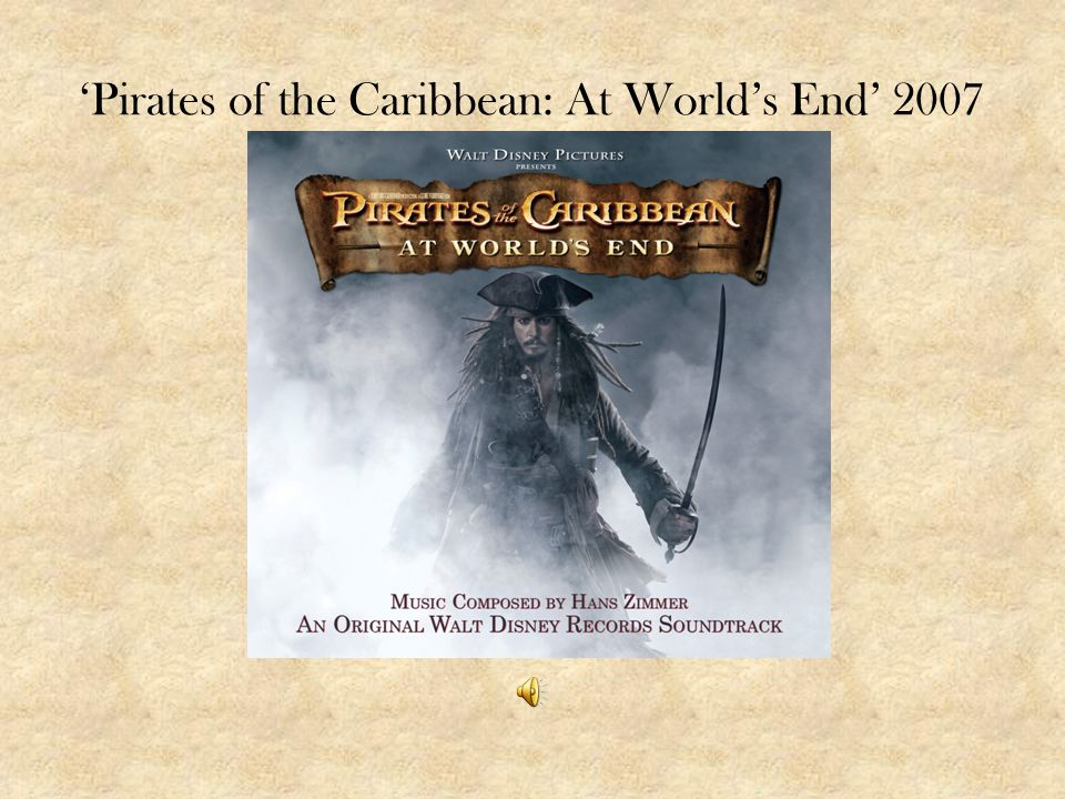 'Pirates of the Caribbean: At World's End' 2007
