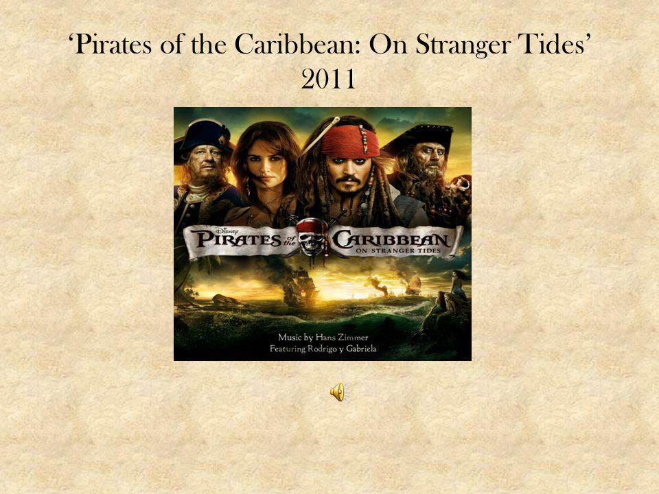 'Pirates of the Caribbean: On Stranger Tides' 2011