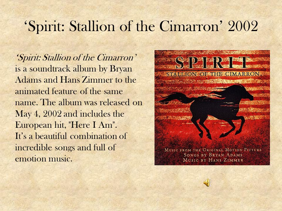 'Spirit: Stallion of the Cimarron' 2002