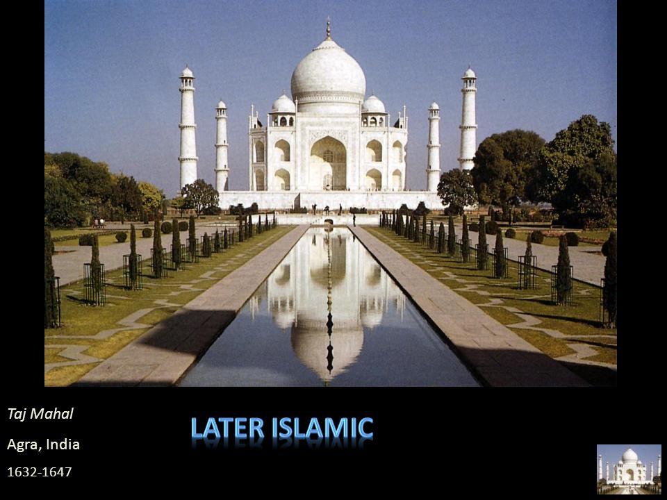 Later islamic Taj Mahal Agra, India 1632-1647