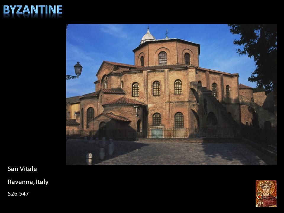 Byzantine San Vitale Ravenna, Italy 526-547