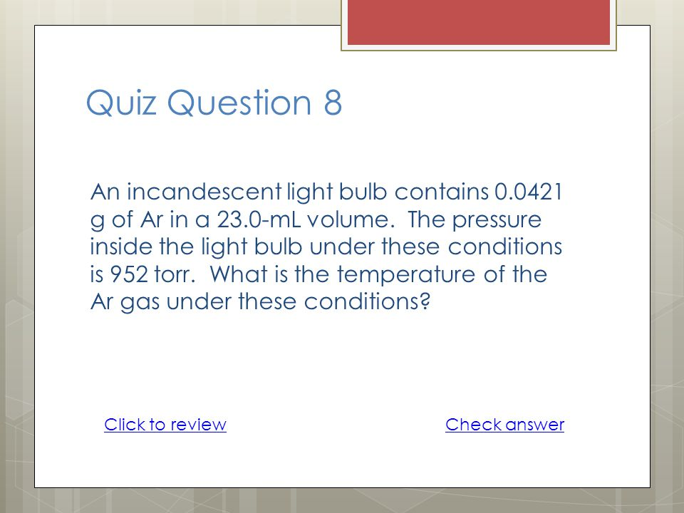 Quiz Question 8