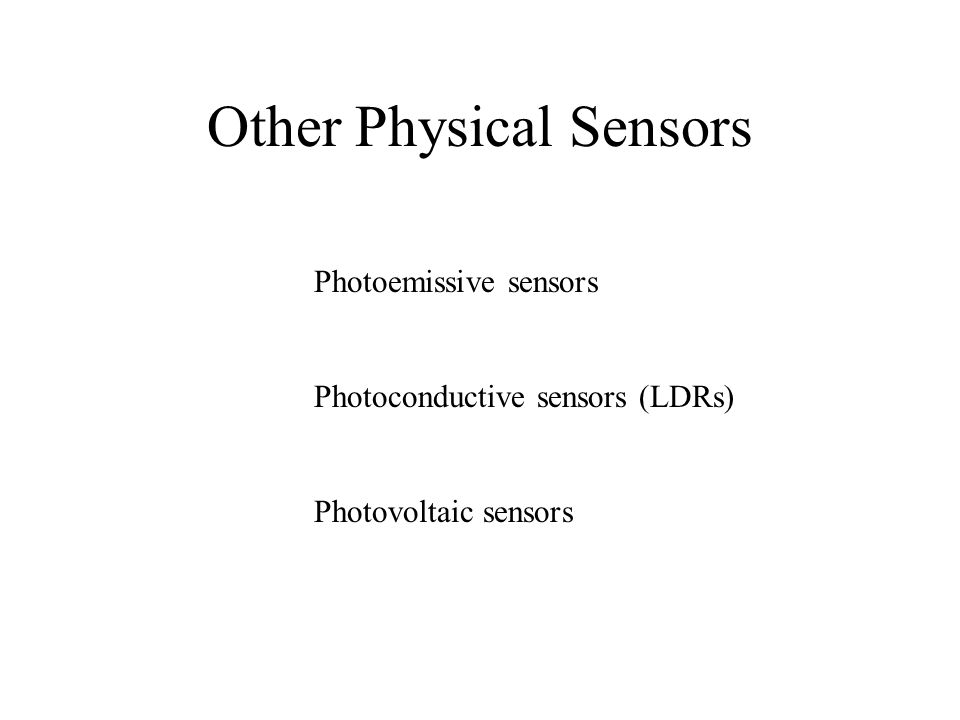 Other Physical Sensors