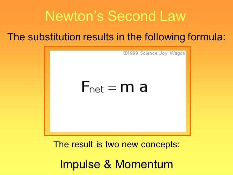 Newton's Second Law Impulse & Momentum