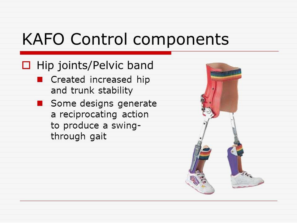KAFO Control components