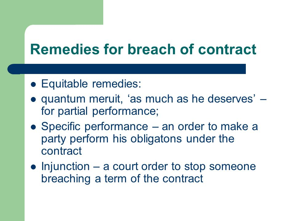 Contract  Ppt Video Online Download
