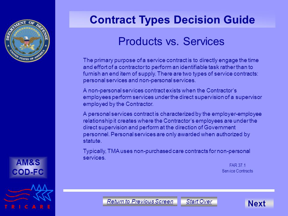 Contract Type Decision Guide - Ppt Download