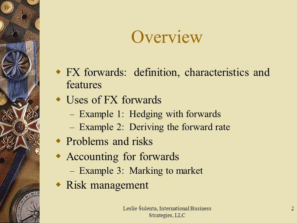 Leslie Šulenta, International Business Strategies, LLC