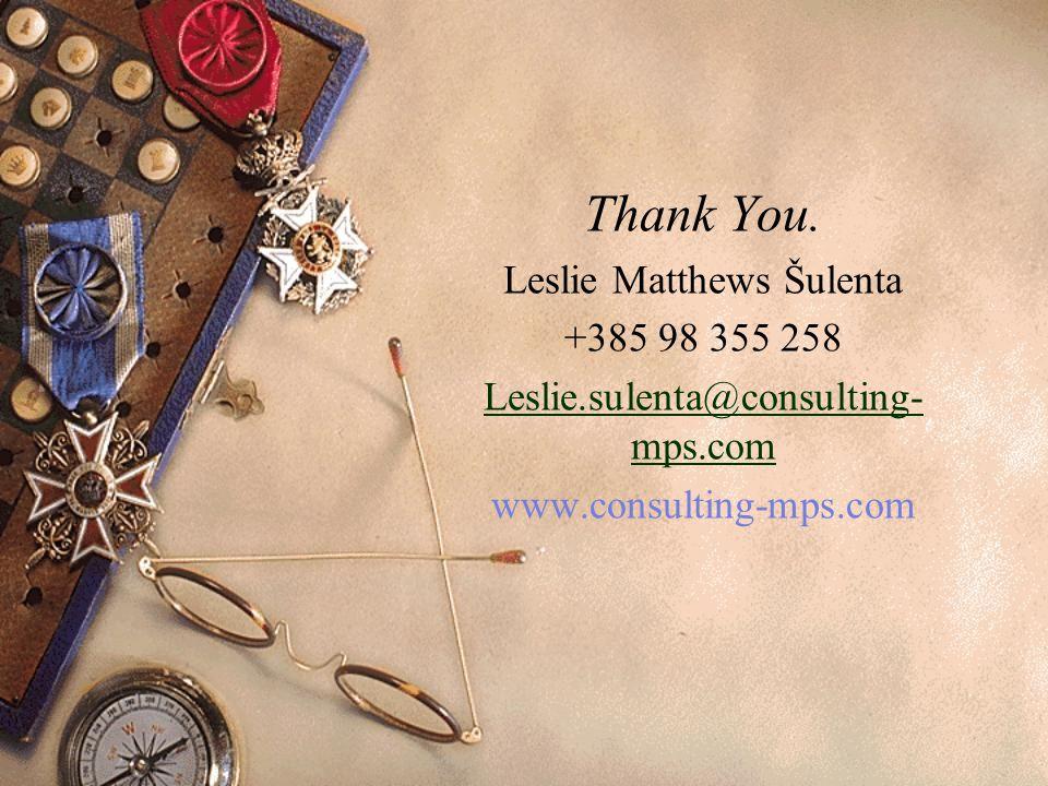 Leslie Matthews Šulenta