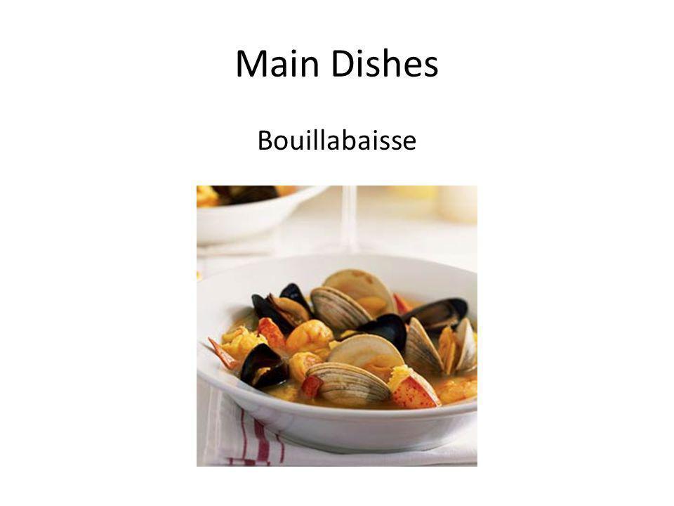 Main Dishes Bouillabaisse