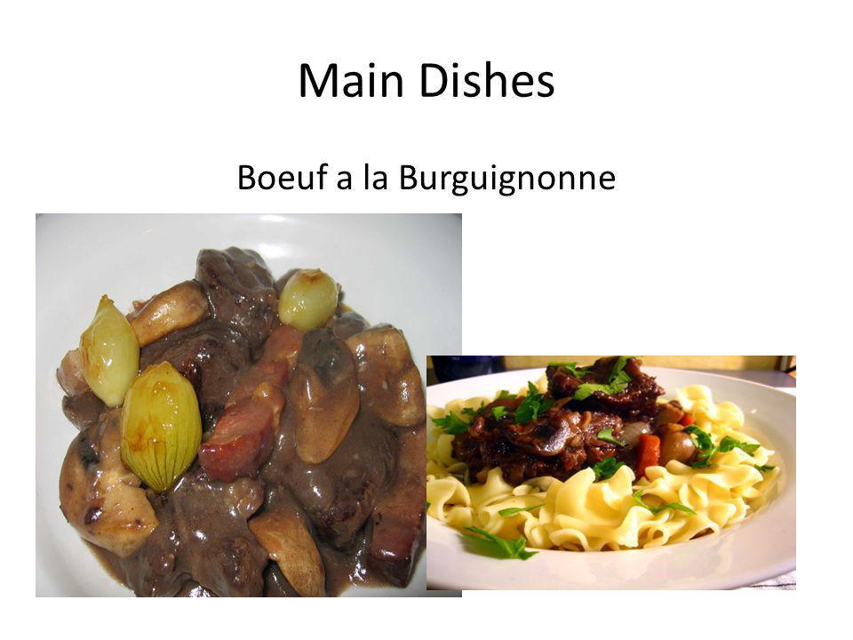 Boeuf a la Burguignonne