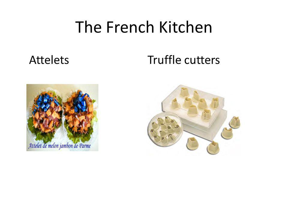 The French Kitchen Attelets Truffle cutters