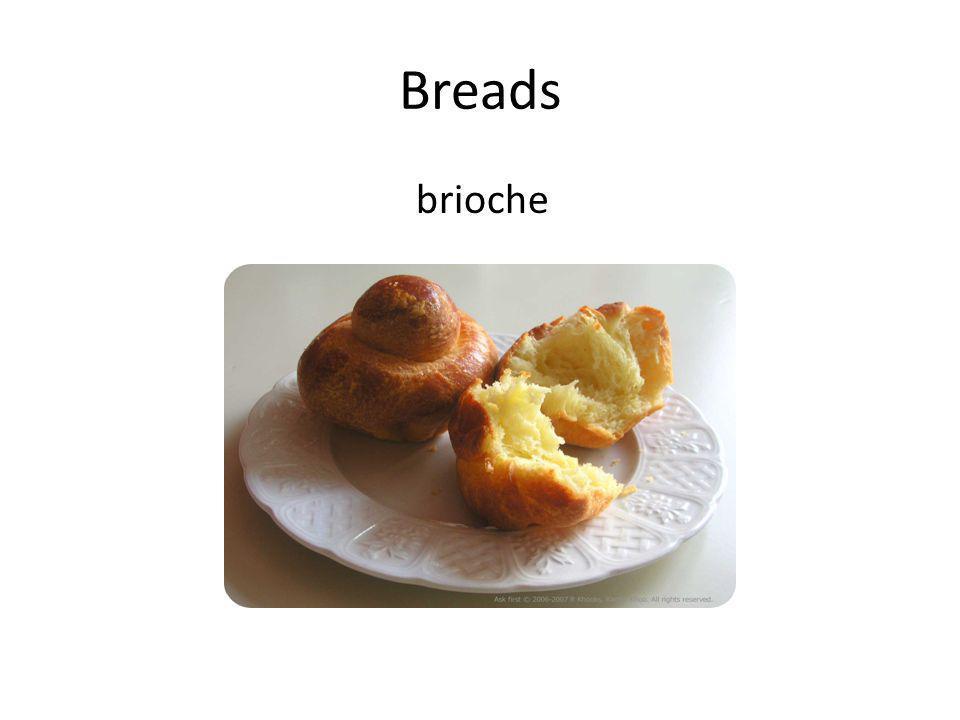 Breads brioche