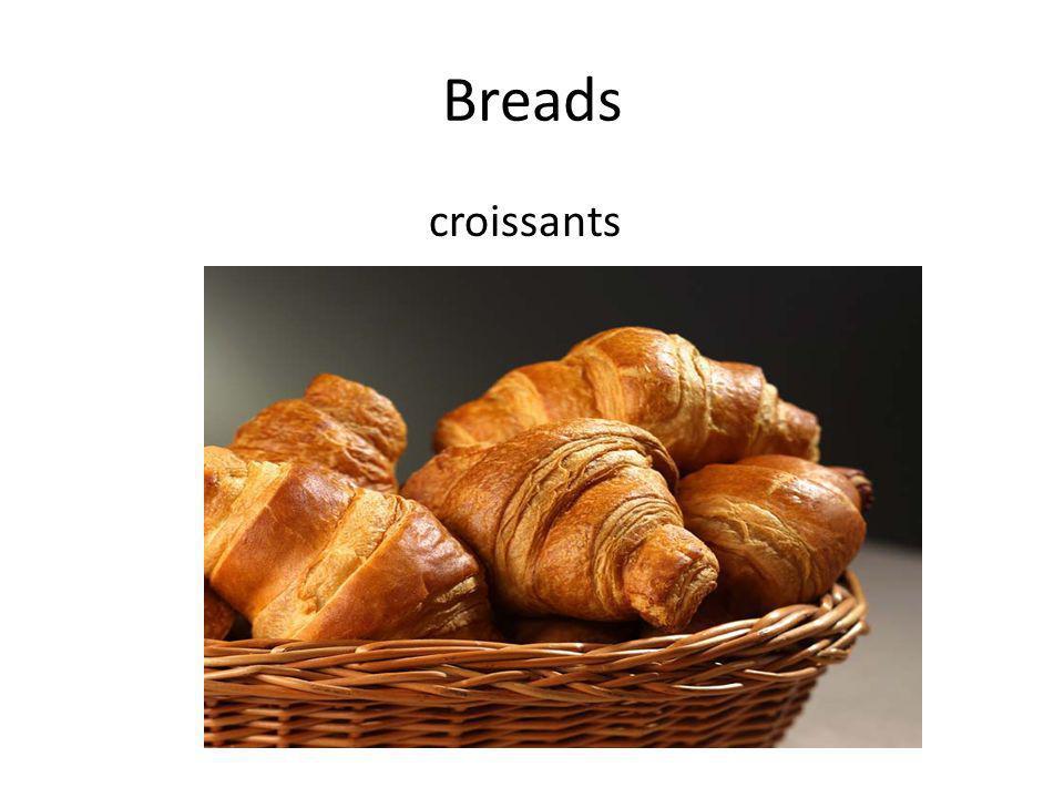 Breads croissants