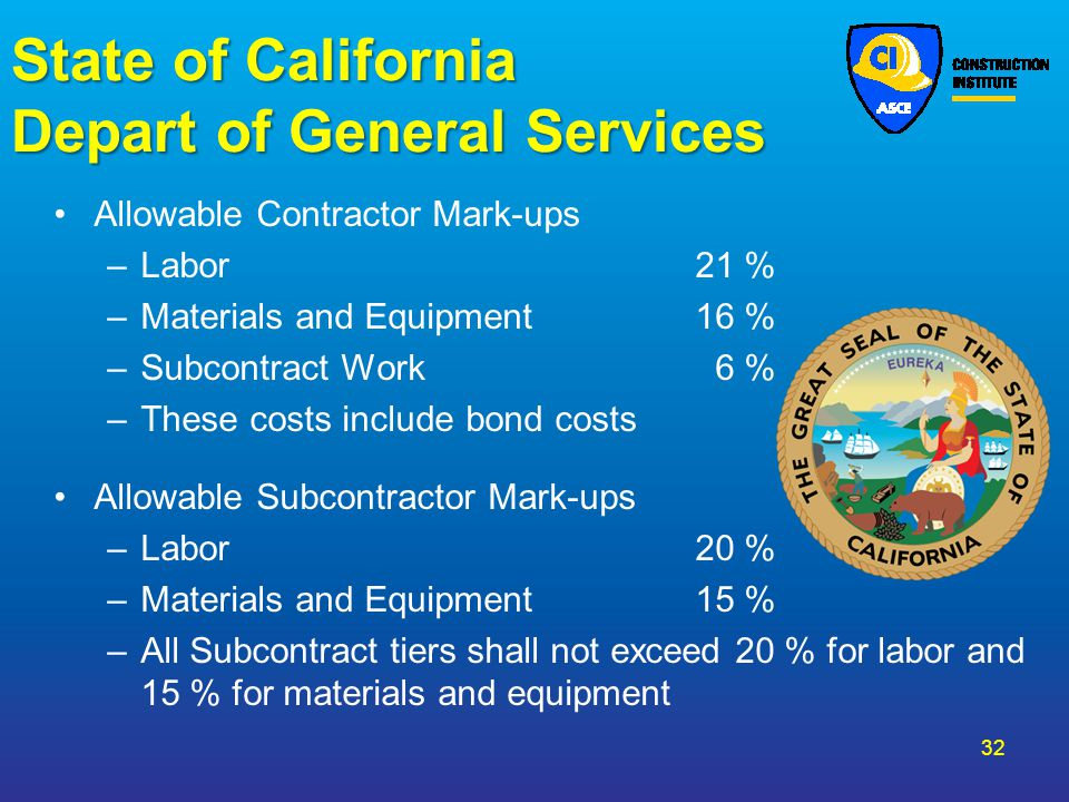 State of California Depart of General Services