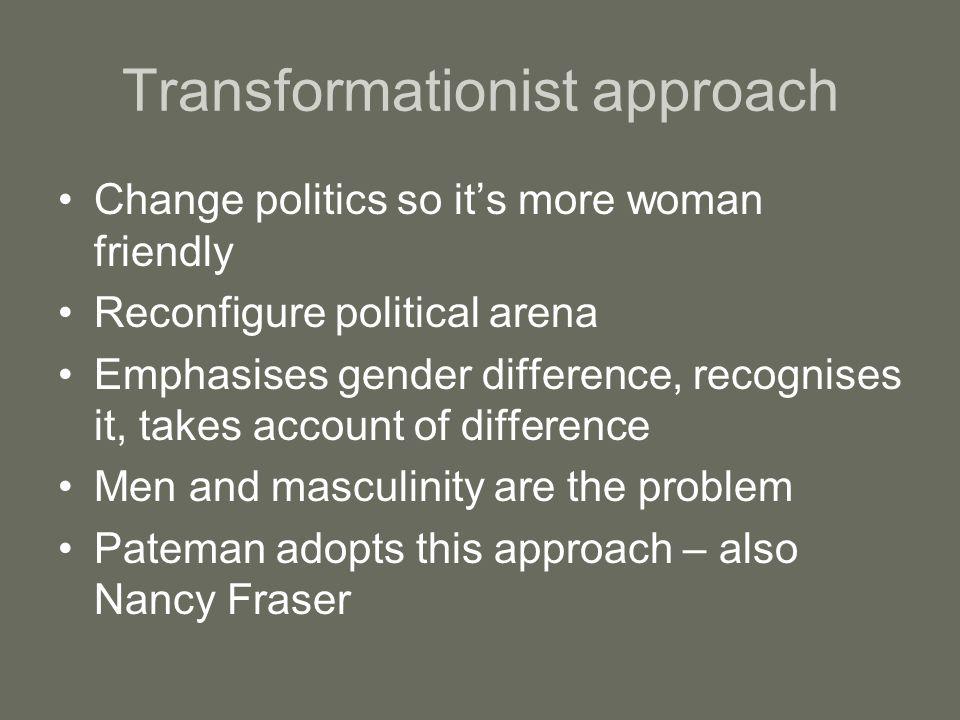 Transformationist approach