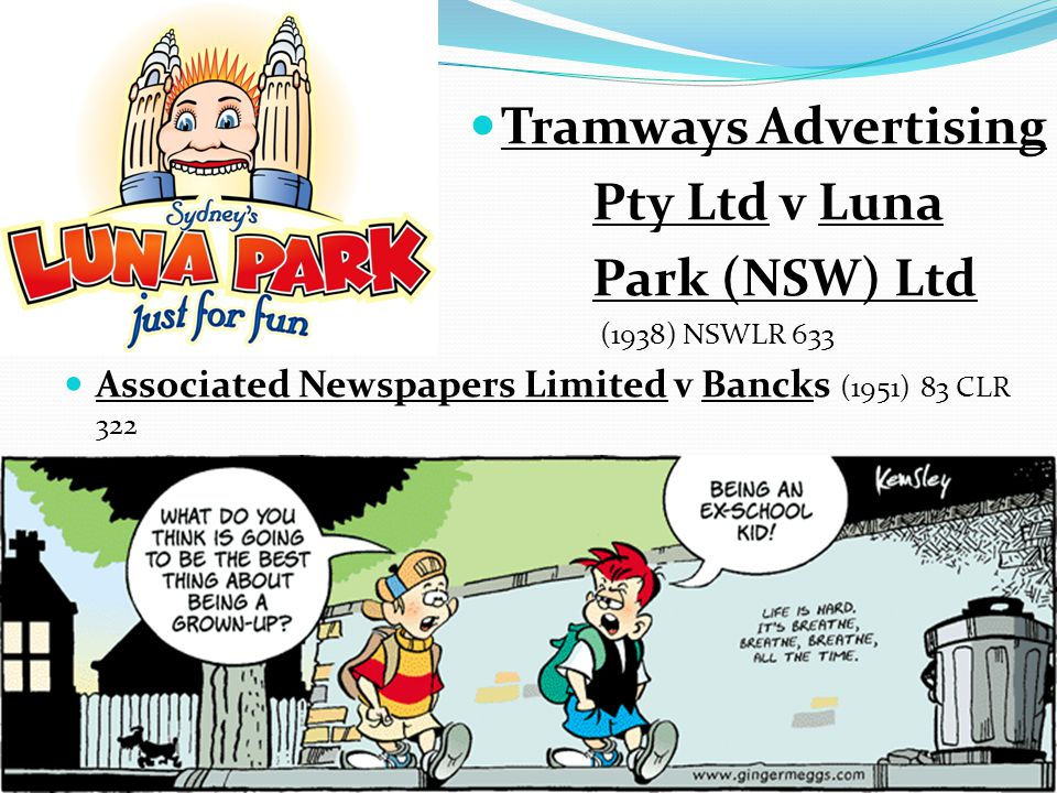 Tramways Advertising Pty Ltd v Luna Park (NSW) Ltd