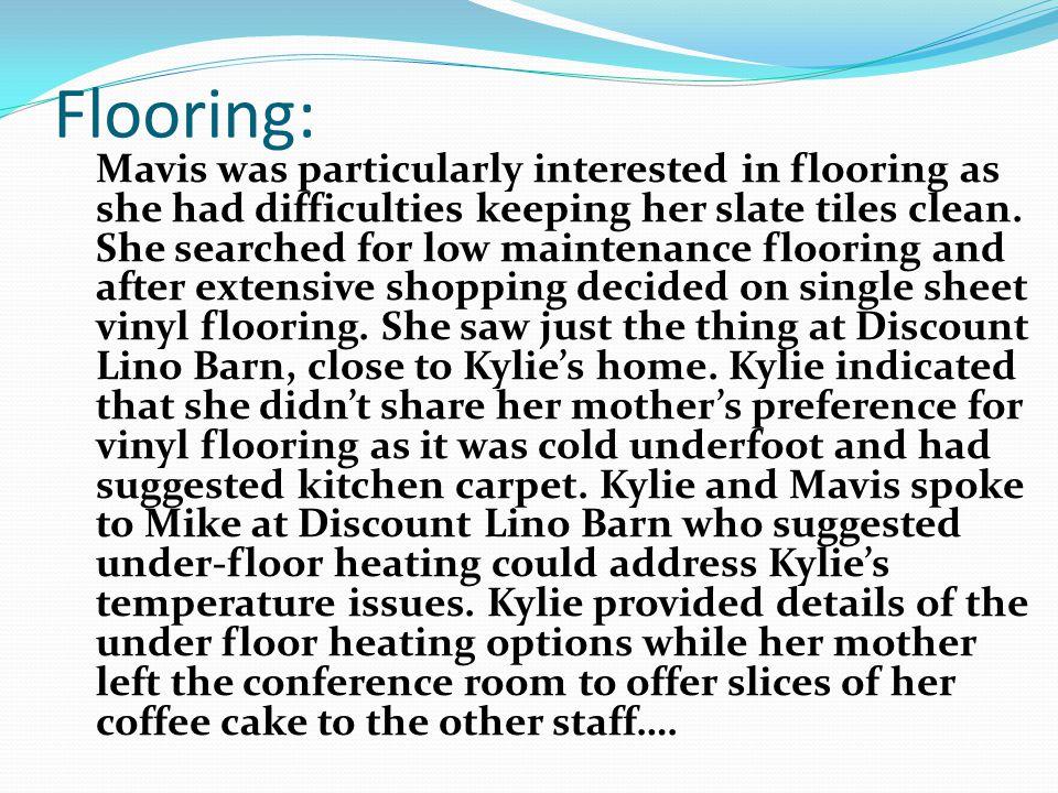 Flooring:
