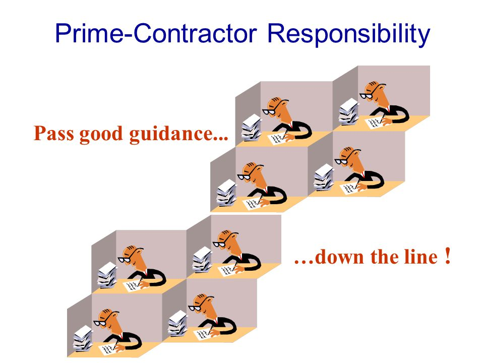 Prime-Contractor Responsibility