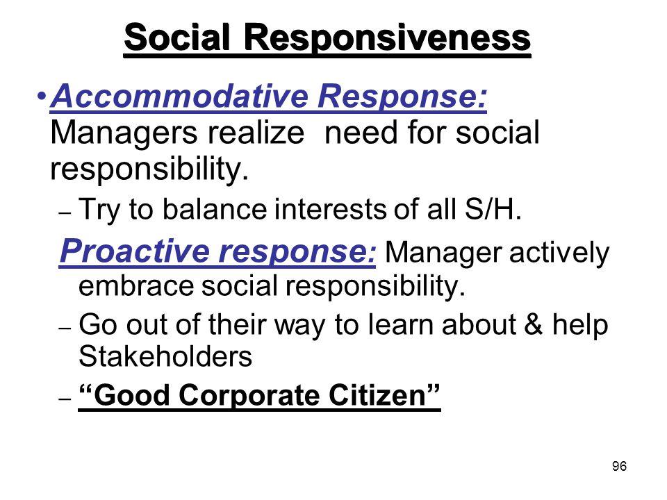 Social Responsiveness