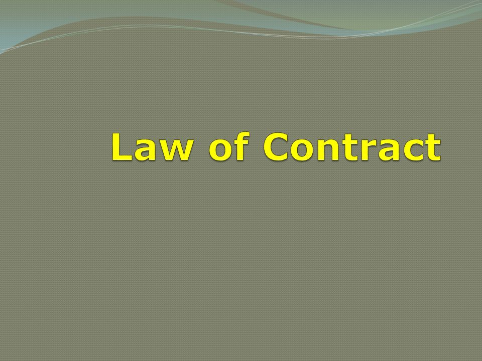 law of contract Contract is a branch of private law it thus concerns private obligations that arise in respect of symmetrical relations among natural and artificial persons rather than public obligations that arise in respect of hierarchical relations between persons and the state.