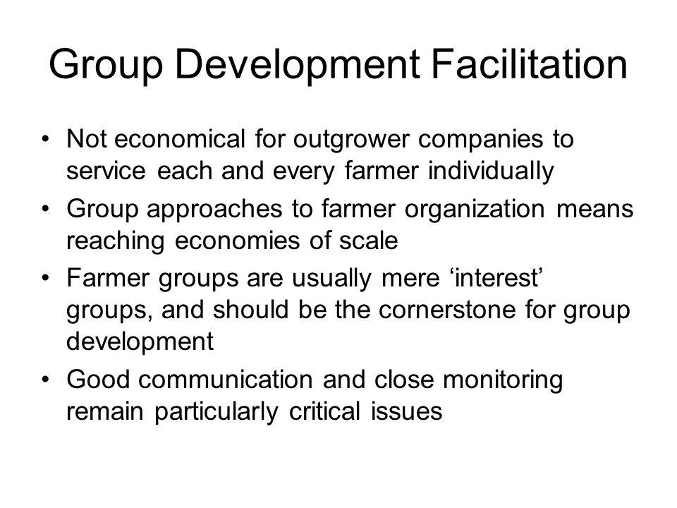 Group Development Facilitation