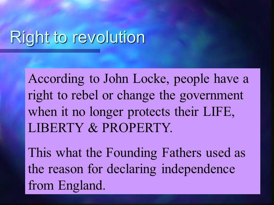 Right to revolution