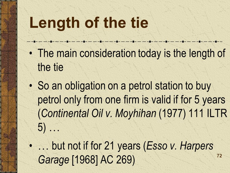 Length of the tie The main consideration today is the length of the tie.