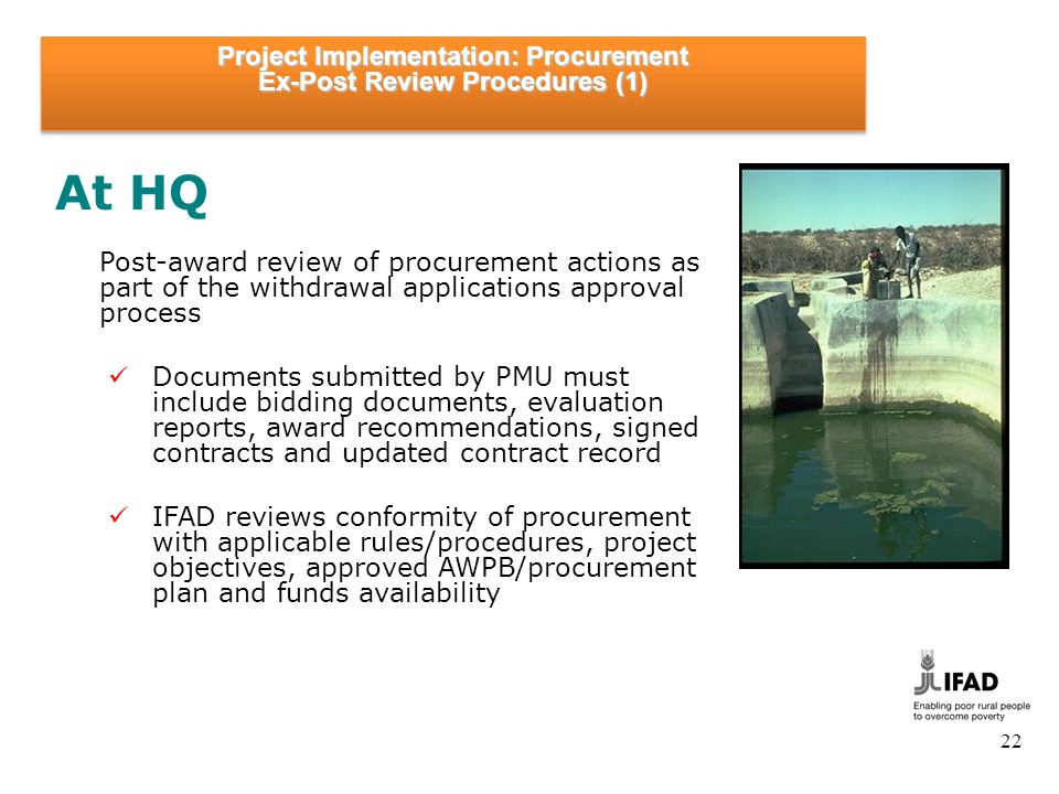 Project Implementation: Procurement Ex-Post Review Procedures (2)