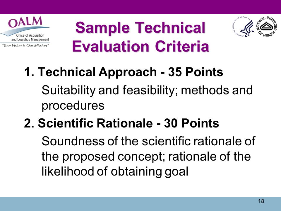 technical approach document template - nih research contracts ppt video online download