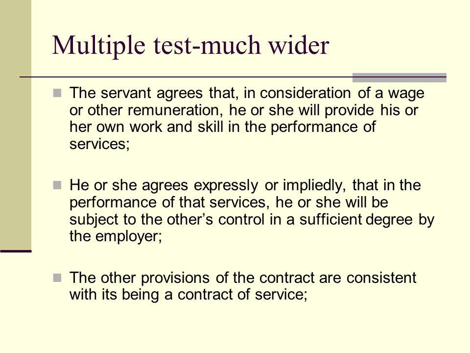 Multiple test-much wider