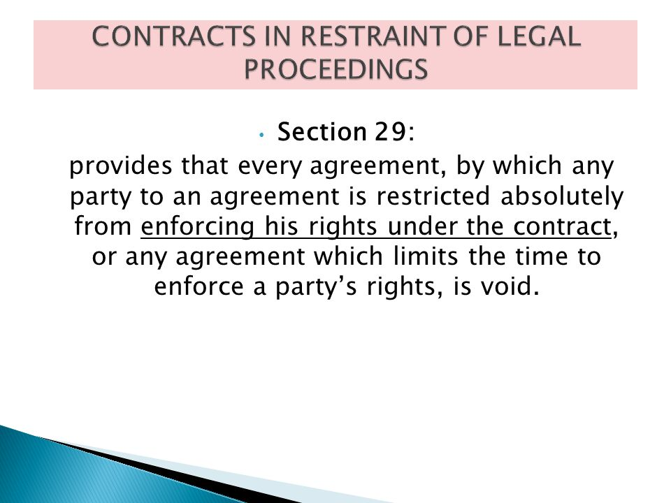 contracts in restraint of trade essay Dr ram manohar lohiya national law university lucknow semester ii law of contracts project exceptions to restraint of trade: case laws acknowledgement.