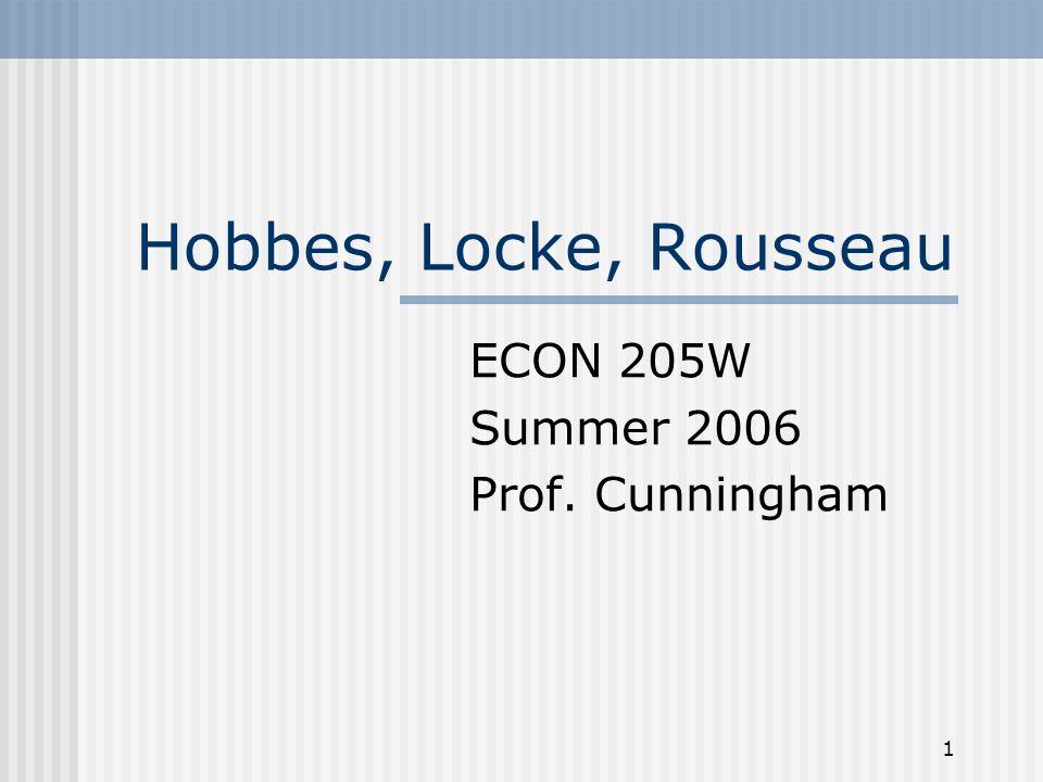 ECON 205W Summer 2006 Prof. Cunningham