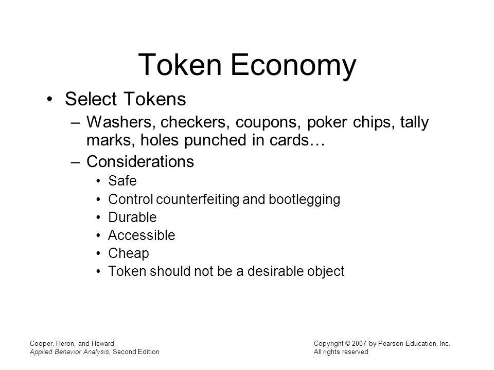 Token Economy Select Tokens