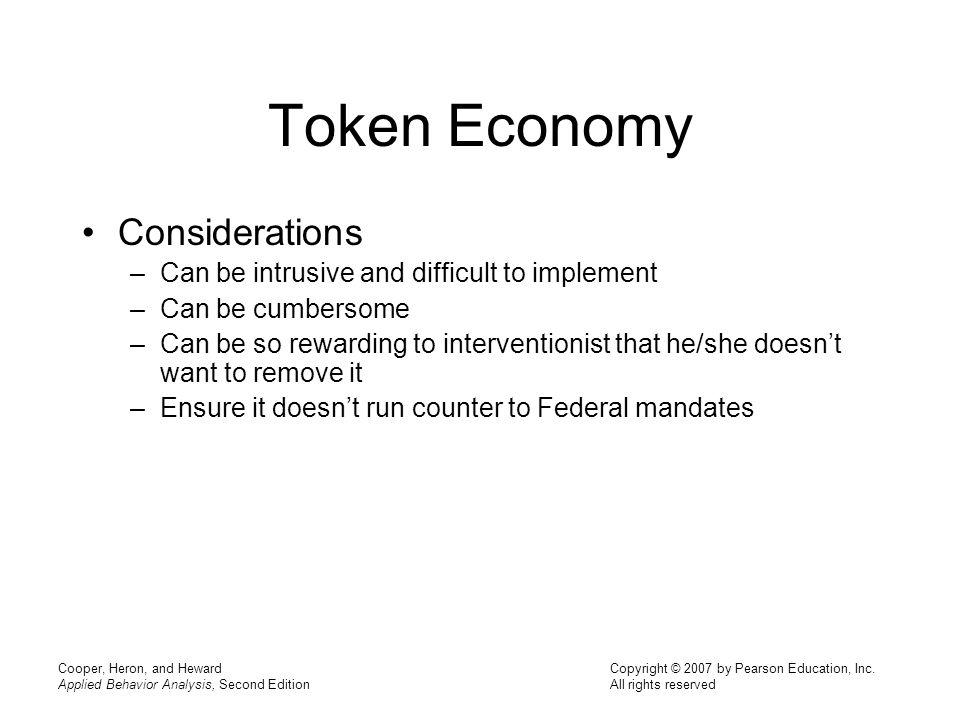 Token Economy Considerations