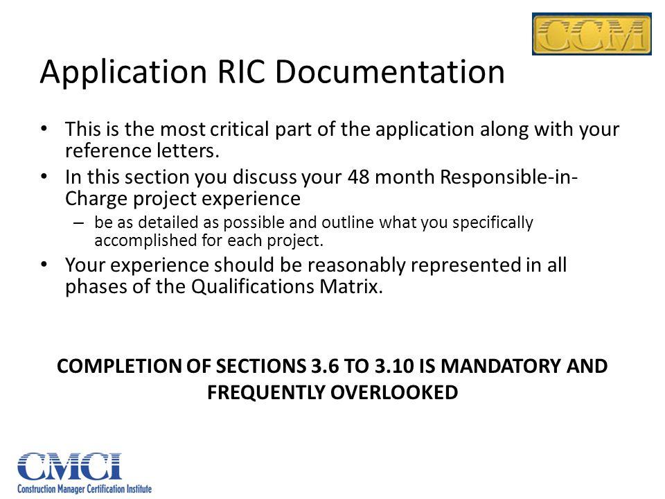 Application RIC Documentation