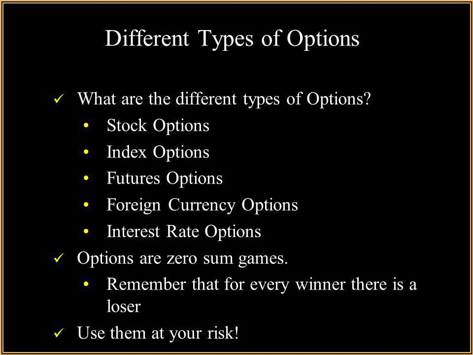What can i do with stock options