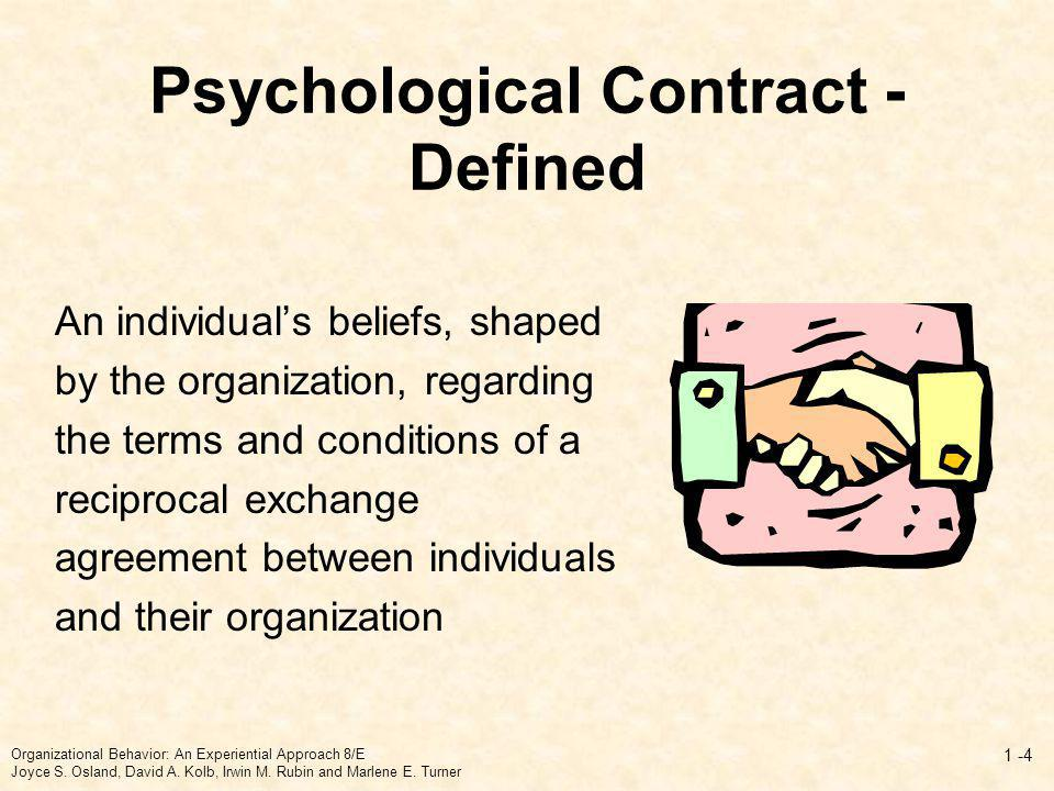 Psychological Contract - Defined